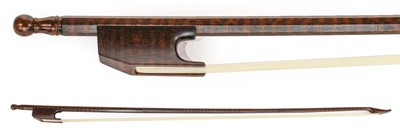 Lot 3003 - Cello Bow (Baroque) By Roger Doe fluted...