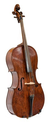 """Lot 3001 - Cello 29 3/4"""" two piece back, upper bout 13..."""