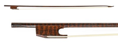 Lot 3029 - Violin Bow (Baroque) By Roger Doe stamped on...