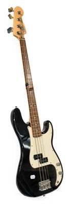 Lot 3044 - Fender Precision Bass Guitar Made in Mexico no....