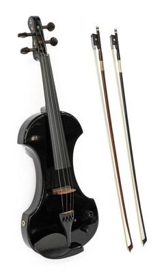 Lot 3011 - Electric Violin By Fender model KD041, serial...