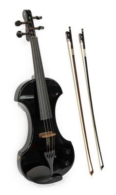 Lot 3010 - Electric Violin By Fender model KD041, serial...
