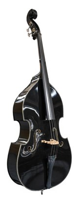 Lot 3005 - Double Bass labelled 'Carlo Giordano Model...