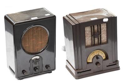 Lot 3091 - Early Bakelite-Cased German Wireless Receivers:...