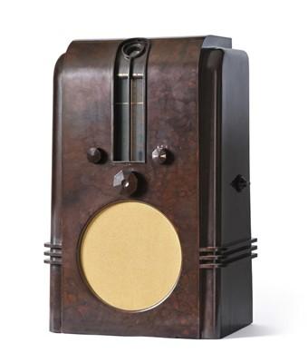 Lot 3083 - A Good Ekco Type AC97 'The Robot' Wireless...