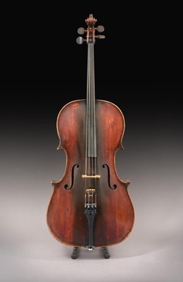 """Lot 3004 - Cello By Benjamin Banks 29 3/8"""" two piece back,..."""