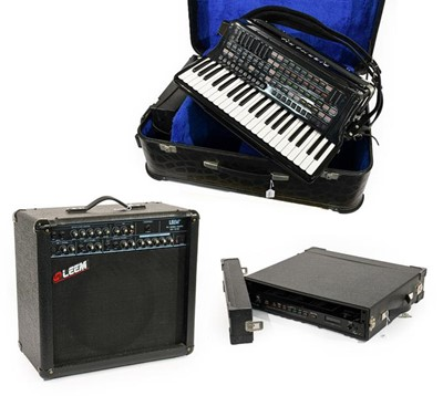Lot 3064 - Piermaria Stage 1 Electrical Accordion 120...