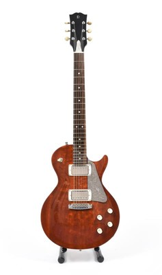 Lot 3056 - Robson Guitars Renegade with maple top and...