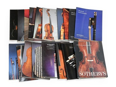 Lot 3012 - Sotheby's: 26 Catalogues from musical...