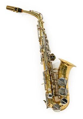 Lot 3035 - Alto Saxophone By Amati Model AAS21 no.197593,...