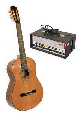 Lot 3052 - WEM ER40 Amplifier Head together with an...