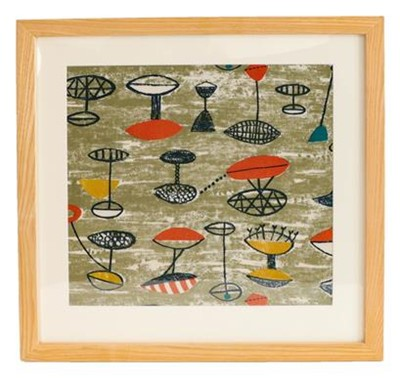 Lot 2078 - Lucienne Day (1917-2010) for Heal's: A...