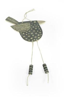Lot 2036 - John Clappison: A Hanging Bird Pendant, with...