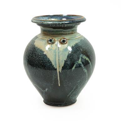 Lot 2031 - A Studio Pottery Stoneware Vase, decorated...