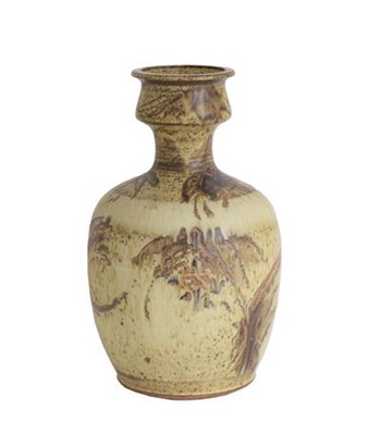Lot 2026 - Mick Arnup (1923-2008): A Stoneware Bottle...