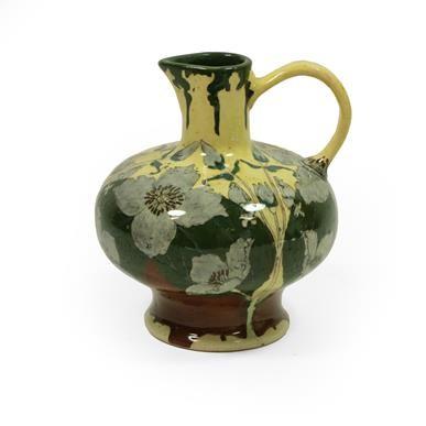 Lot 2044 - An Art Nouveau Faience de Purmerend Pottery...
