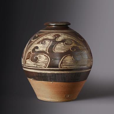 Lot 2019 - Bernard Leach (1887-1979): A Stoneware Tree of...