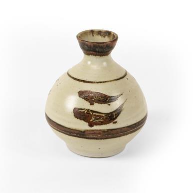 Lot 2020 - Bernard Leach (1887-1979): A Porcelain Vase,...
