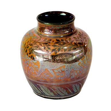 Lot 2014 - A Pilkington's Royal Lancastrian Lustre Vase,...