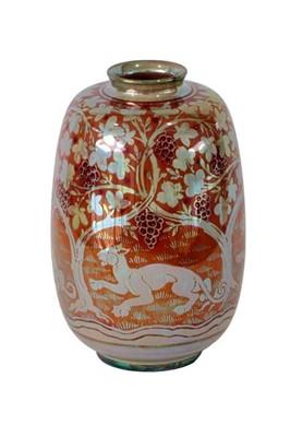 Lot 2013 - A Pilkington's Royal Lancastrian Lustre Vase,...