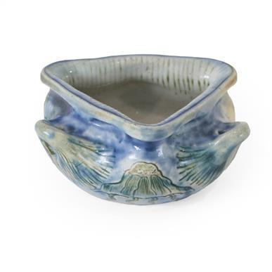 Lot 2011 - A Martin Brothers Stoneware Aquatic Vase,...