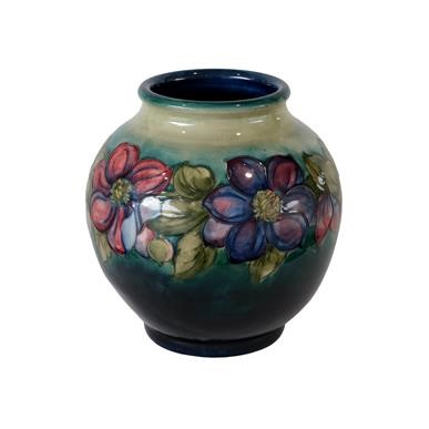 Lot 2003 - Walter Moorcroft (1917-2002): A Large Clematis...