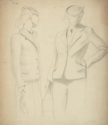 Lot 3075 - Harry Epworth Allen RBA, PS (1894-1958)