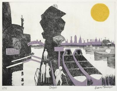 Lot 3014 - Julian Trevelyan RA (1910-1988)