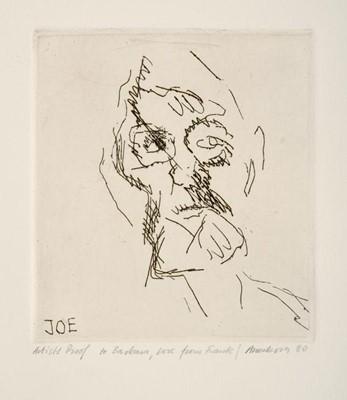 Lot 3048 - Frank Auerbach (b.1931)