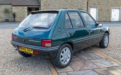 Lot 258 - 1995 Peugeot 205 Mardi Gras 5 door Auto...