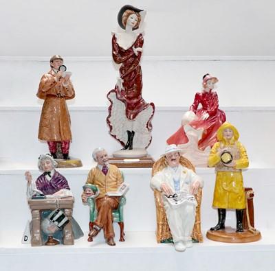 Lot 27 - Royal Doulton figures - HN2359 The Detective;...