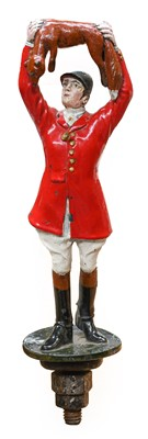 Lot 47 - A 1930/40 Car Mascot, as a huntsman with arms...