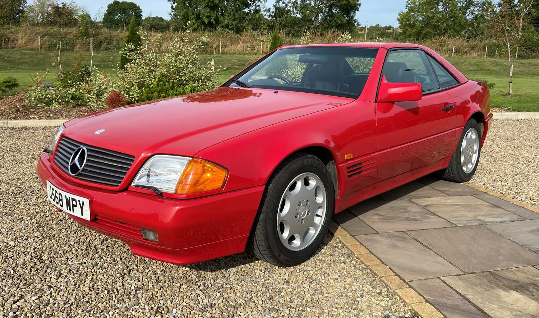 Lot 266 - 1992 Mercedes 300 SL Auto Registration number:...