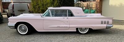 Lot 277 - 1960 Ford Rose PinkThunderbird (Rare Sunroof...