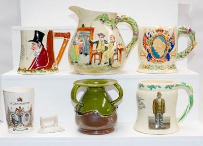 Lot 22 - A quantity of Crown Devon musical pottery...