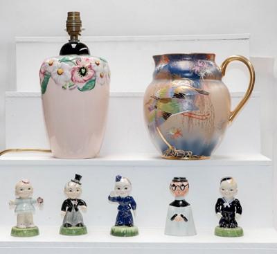 Lot 21 - A Carltonware Art Deco jug decorated in the...