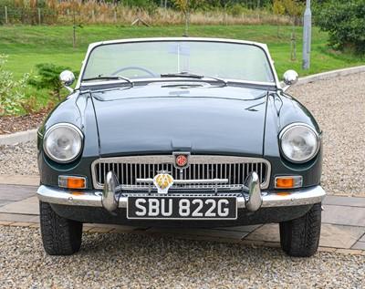 Lot 269 - 1968 MGB Registration number: SBU 822G Date of...