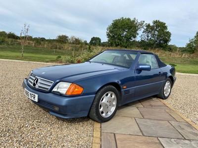 Lot 267 - 1993 Mercedes 500SL 32 Auto Registration...
