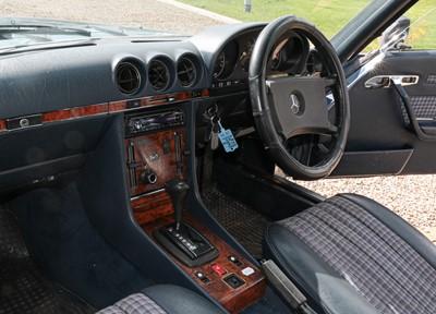 Lot 270 - 1985 Mercedes 380-SL Auto Convertible...