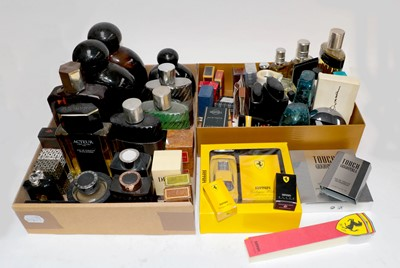 Lot 35 - Assorted mainly gents factices and scent...