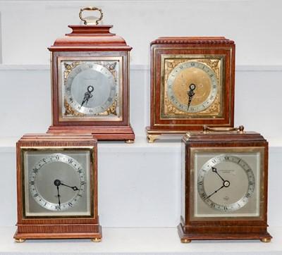 Lot 11 - Four Elliot mantel timepieces