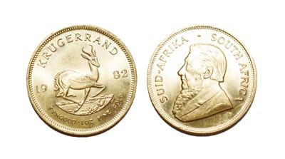 Lot 92 - South Africa, 1982 Krugerrand. 1 oz. 24ct...