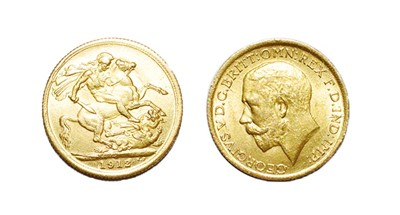 Lot 90 - A George V Sovereign, 1912