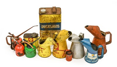 Lot 96 - Five Assorted Metal Jugs, including Thelson...