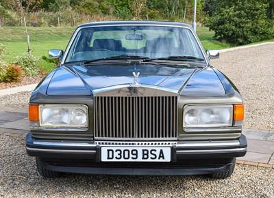 Lot 268 - 1986 Rolls Royce Registration number: D309 BSA...
