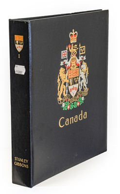 Lot Canada, excellent mint collection in a boxed...