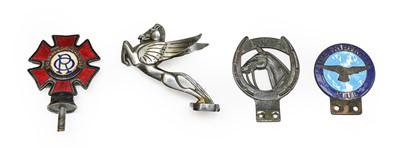 Lot 48 - A 1920/30 Nickel-Plated Pegasus Car Mascot,...