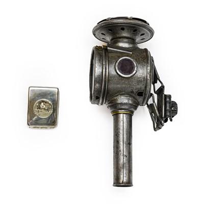 Lot 88 - A Veteran Motorists Silver-Plated Vesta Case,...