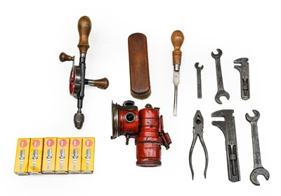 Lot 91 - A Motor Mechanic's Mechanical Hand Drill, with...