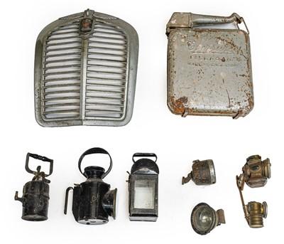 Lot 90 - A 1930s Austin Car Radiator Grille; An...